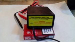 Уред за проверка подсветката на LED